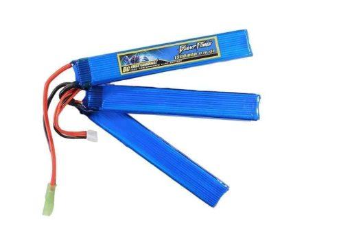 Giant Power 11.1V 1300MAH 15C LiPo battery - Crane Stock