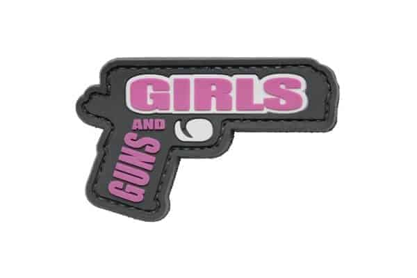 girls and guns pistol patch Girls and Guns Morale Patch