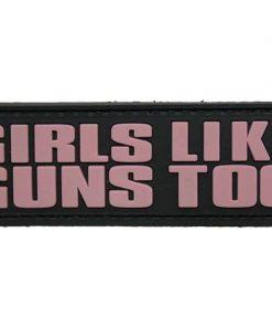 Girls Like Guns Too Morale Patch