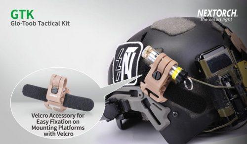 Nextorch GTK Glo-Toob Tactical Kit - Black