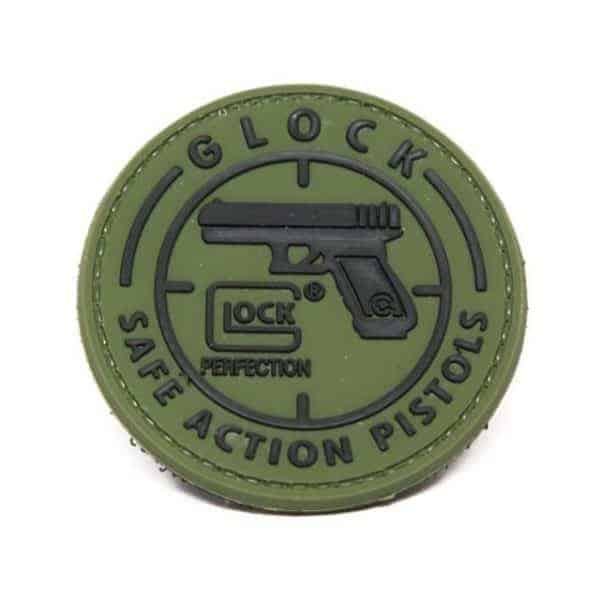 Glock Safe Action Pistol patch (Green)