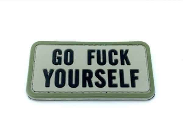 Go F**k Yourself morale patch