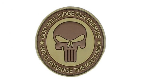 God will judge our enemies punisher patch (Coyote)