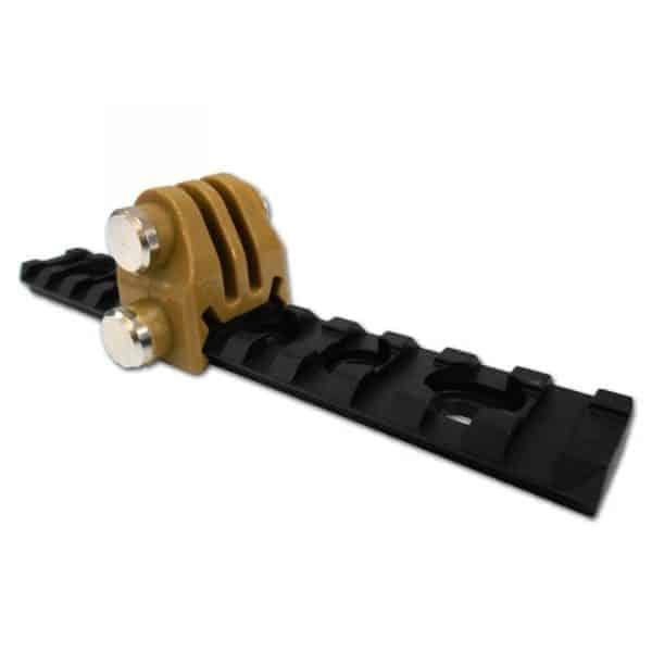 ACM Gopro mount for 20mm Ris - Tan