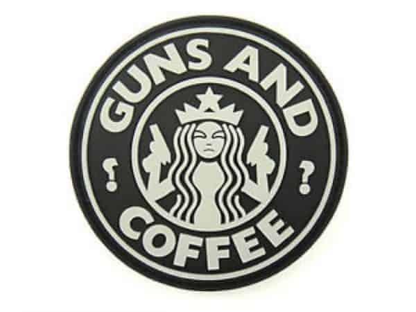 Guns & Coffee morale patch (Black)