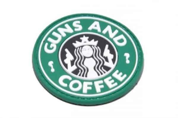 Guns & Coffee morale patch (Green)
