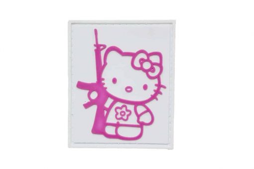 Hello Kitty with Gun Morale patch