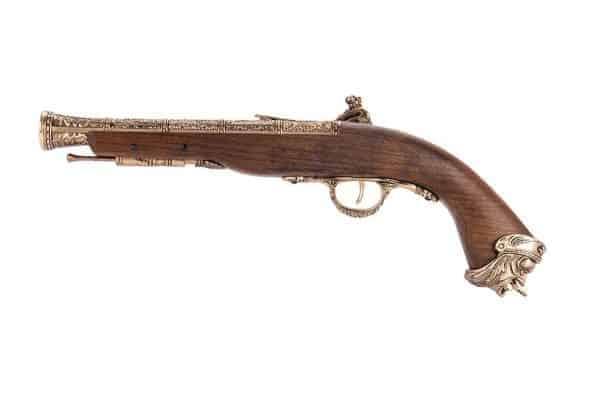 HFC Flintlock 18th Century gas NBB pistol (Gold)