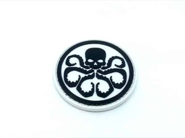 Avengers Hydra marvel patch (White)