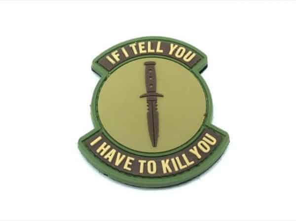 If I Tell You, I Have To Kill You patch (Coyote)
