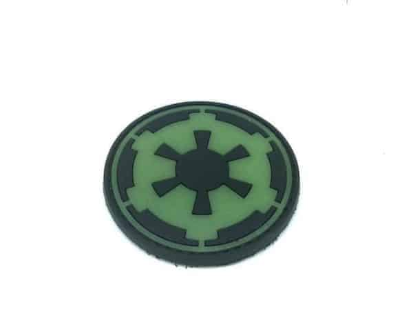 Imperial Forces emblem glow in the dark patch