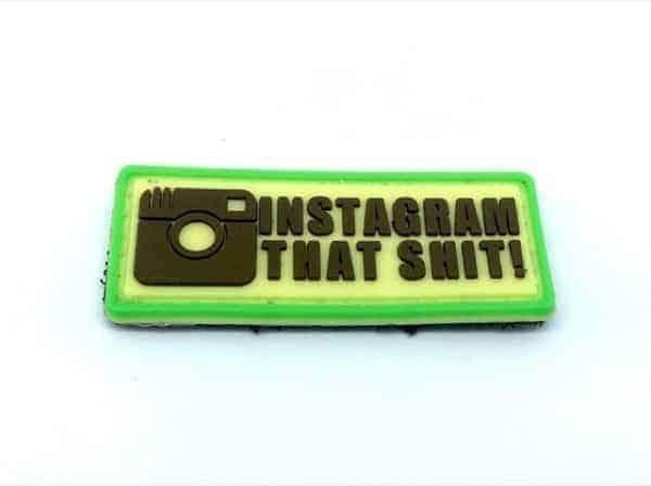 instagram that shit patch Instagram that s**t PVC patch