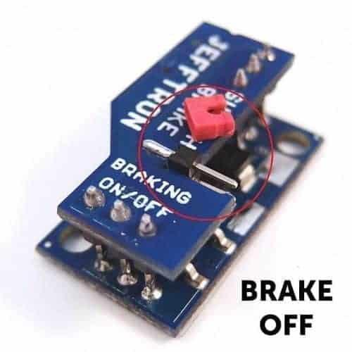 Jefftron Switch brake Micro Switch replacement Mosfet