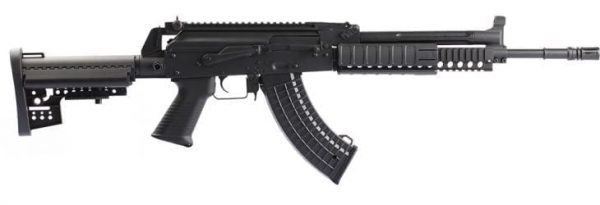 JG Ak74 Tactical with M4 stock and RIS