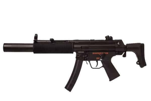 Jing Gong MP5SD with retractable stock