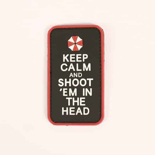 Keep Calm and Shoot 'Em In The Head (Red)