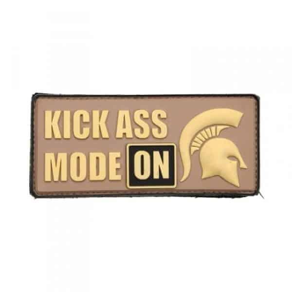 Kickass mode: ON spartan morale patch (Tan)