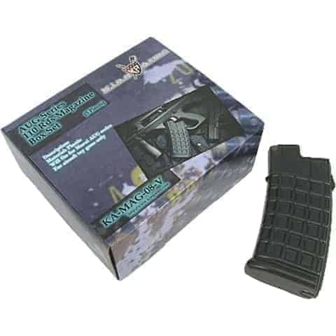 King Arms AUG 110 Rounds Magazines Box Set (5pcs)