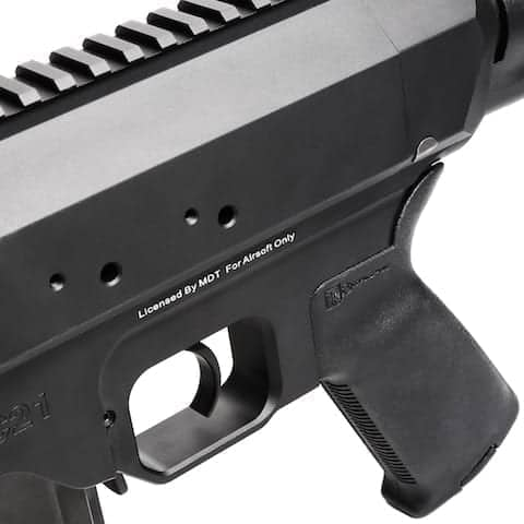king arms MDT TAC21 Tactical Rifle 5 King Arms MDT TAC21 Tactical Rifle – BK – Limited Edition