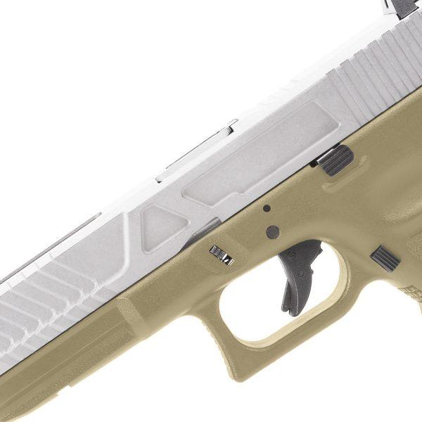 King Arms KA17 Custom I - Tan And Silver