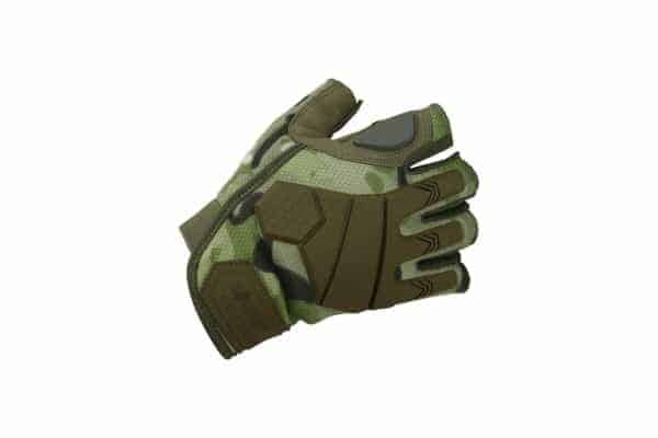 kombat uk alpha fingerless gloves combat gloves - british terrain pattern