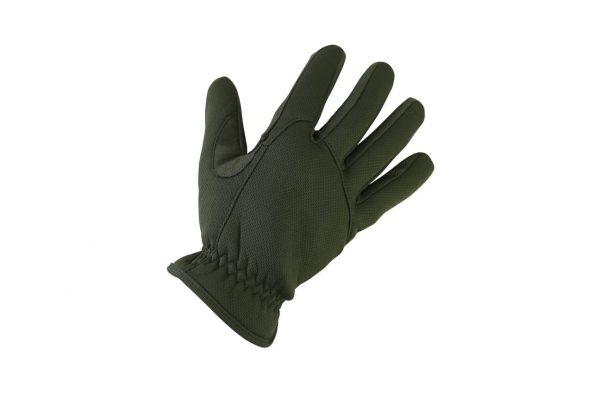 kombat uk delta fast gloves slim gloves - olive
