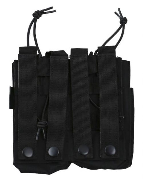 kombat uk double due black 2 Kombat UK Double Duo Molle Magazine Pouch