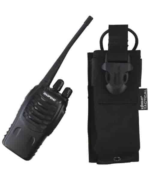 kombat uk gps radio molle pouch black 2 Kombat UK Molle Radio Pouch