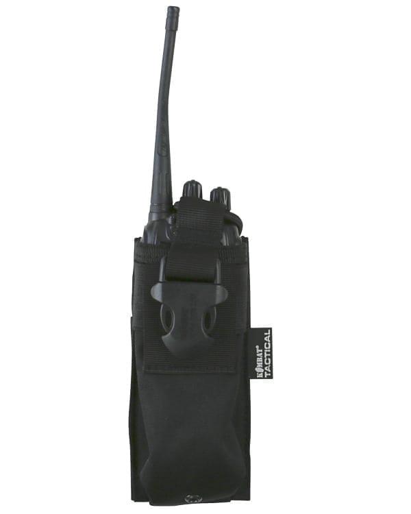 kombat uk gps radio molle pouch black 3 Kombat UK Molle Radio Pouch