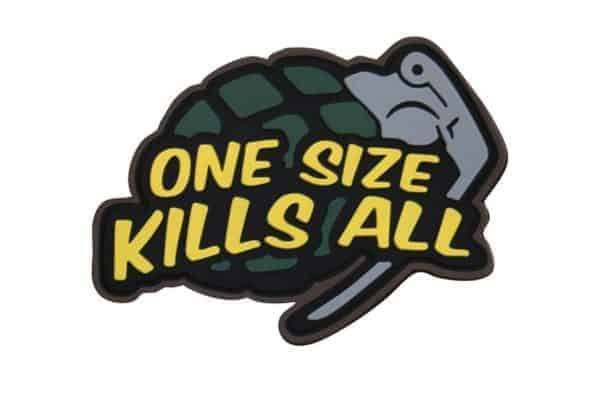 One size kills all grenade patch