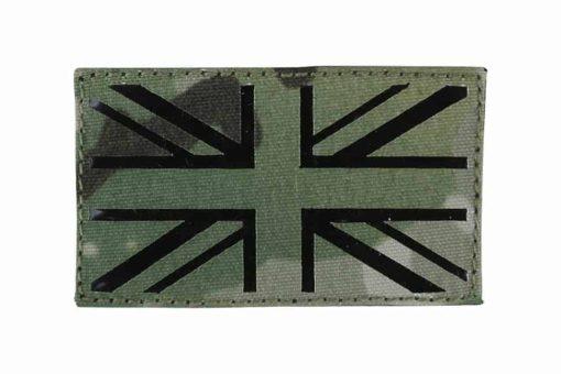 Kombat UK flag laser cut patch - BTP