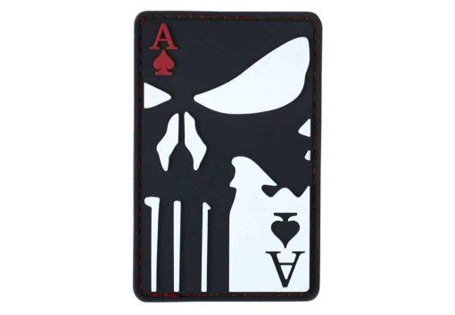 Kombat UK Punisher Ace of spades patch