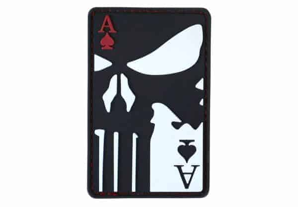 Kombat UK Punisher Ace of spades patch