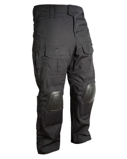 kombat uk spec ops trousers black kneepads Kombat UK Spec ops trousers - Black (L)