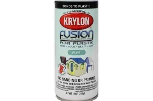 Krylon Fusion White Gun Paint