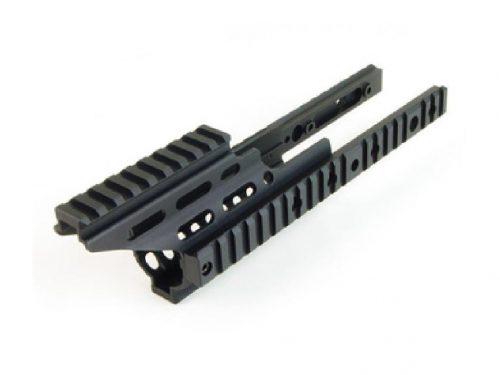 Laxlax Scar-L extended handguard booster - Black