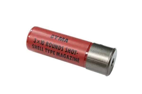 M56/M870 30 round Airsoft Shotgun Shell Cartridge (Single)