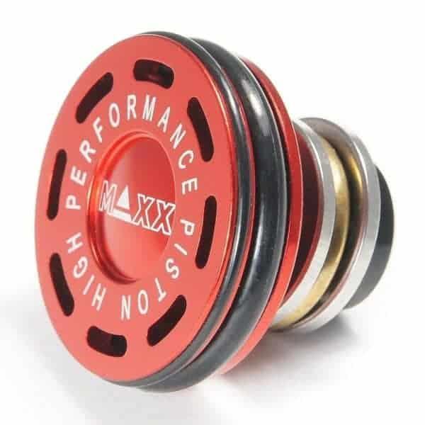 MAXX Model CNC Aluminum Double O-Ring Ball Bearing AEG Piston He