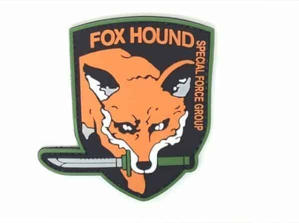 Metal gear solid Foxhound special forces patch