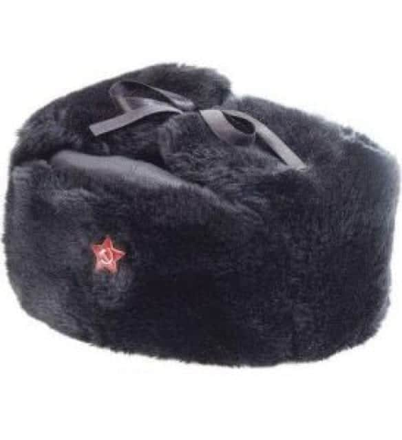 DDR-Type Russian Hat With Badge