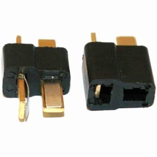 Mini Deans connectors 1x male only