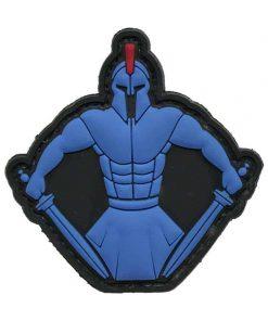 Spartan Warrior Molon Labe (Blue) Morale Patch