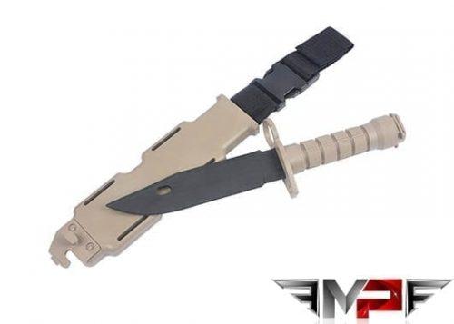 MP M9 Flexible Training Bayonet With Sheath - Dark Earth