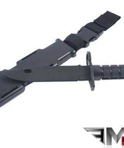 MP M9 Flexible Training Bayonet With Sheath - Black