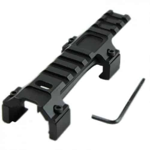 MP5 long Low profile RIS rail sight mount for MP5 / G3