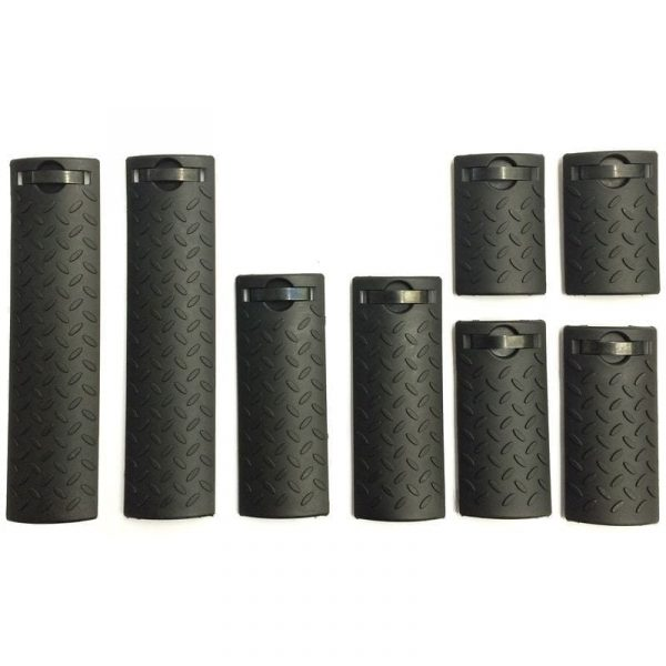 Rail cover assorted size set for 20mm rails