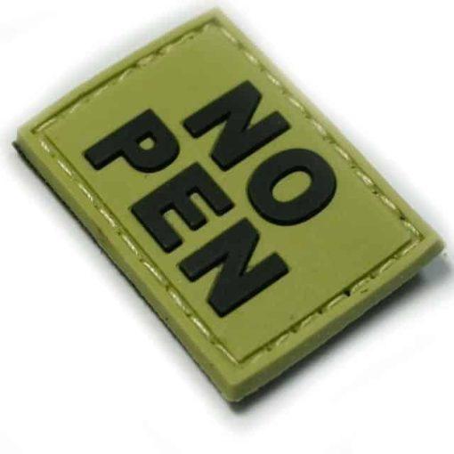 NO PEN small patch (Green)