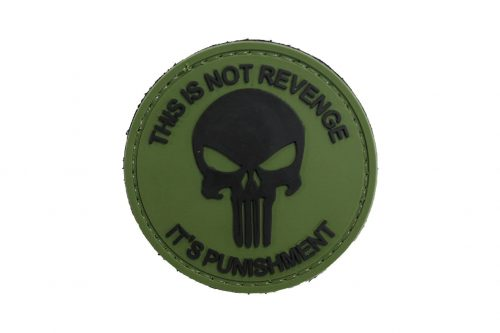This Is Not Revenge It's Punishment (Green) Morale Patch