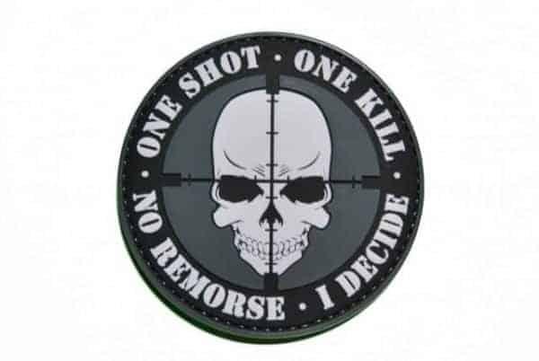 One Shot, One Kill. No Remorse, I Decide patch