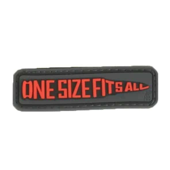 one size fits all bullet morale patch One size fits all bullet morale patch